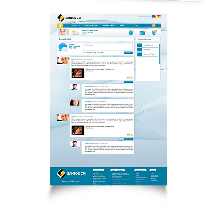 Intranet Design Guayaquil